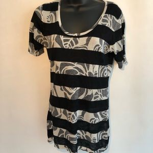 Alberto Makali Medium Viscose Cotton Lurex Dress